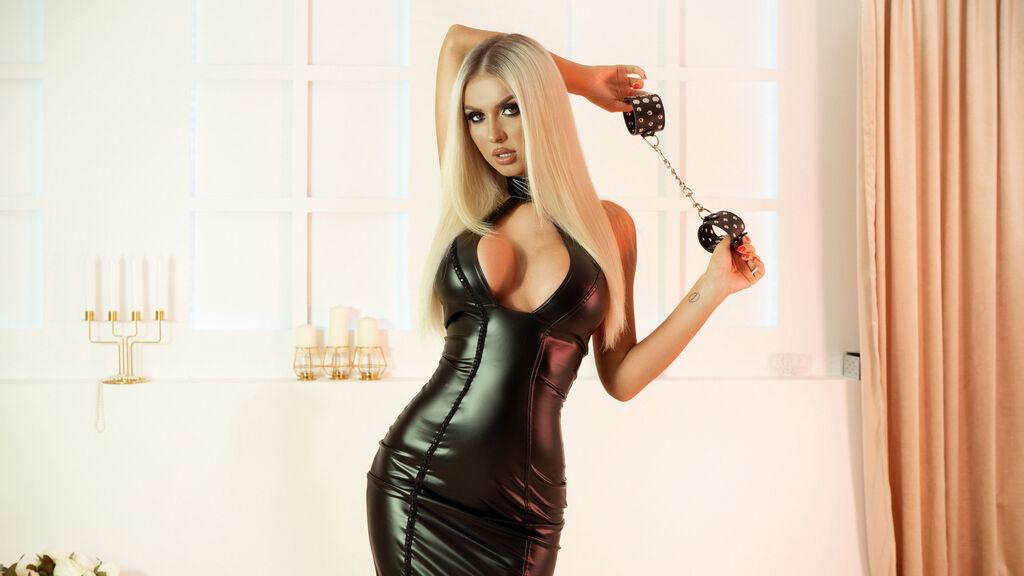 Adorable blonde amateur